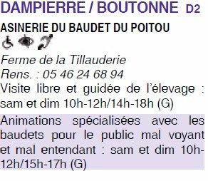 Asinerie du Baudet du Poitou de Dampierre sur Boutonne
